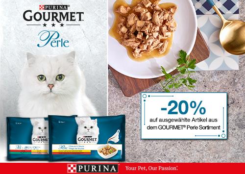 Gourmet Katzenfutter Perle