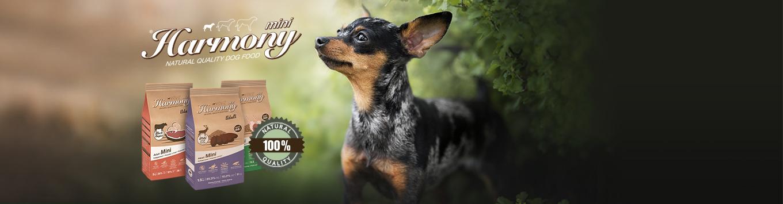 NEU: Harmony Dog Natural Trockenfutter Mini