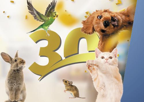Vom Tiermagazin zum grössten  Schweizer Zoofachhandel.