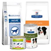 Nourriture vétérinaire pour chien