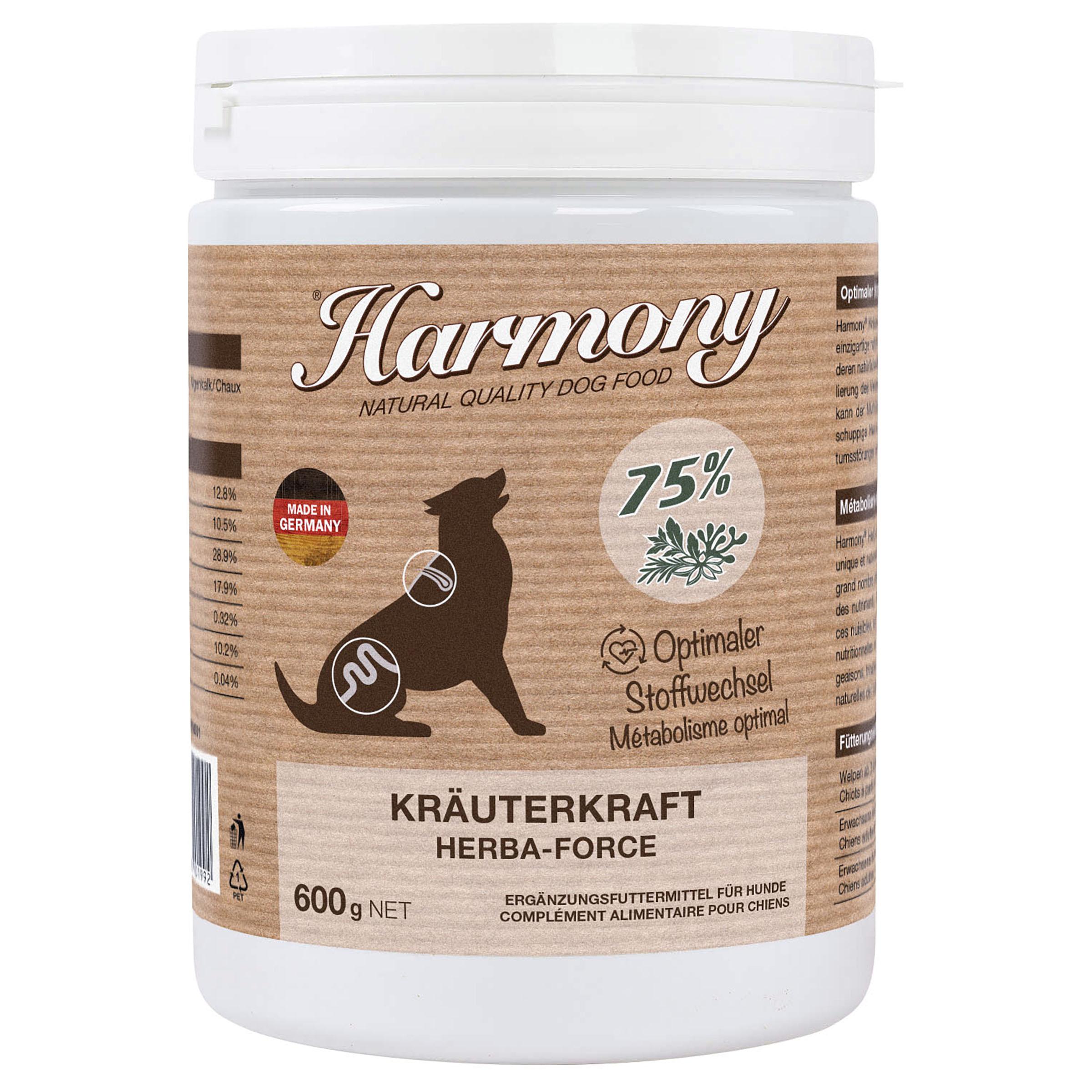Harmony Dog Natural KräuterKraft 600g