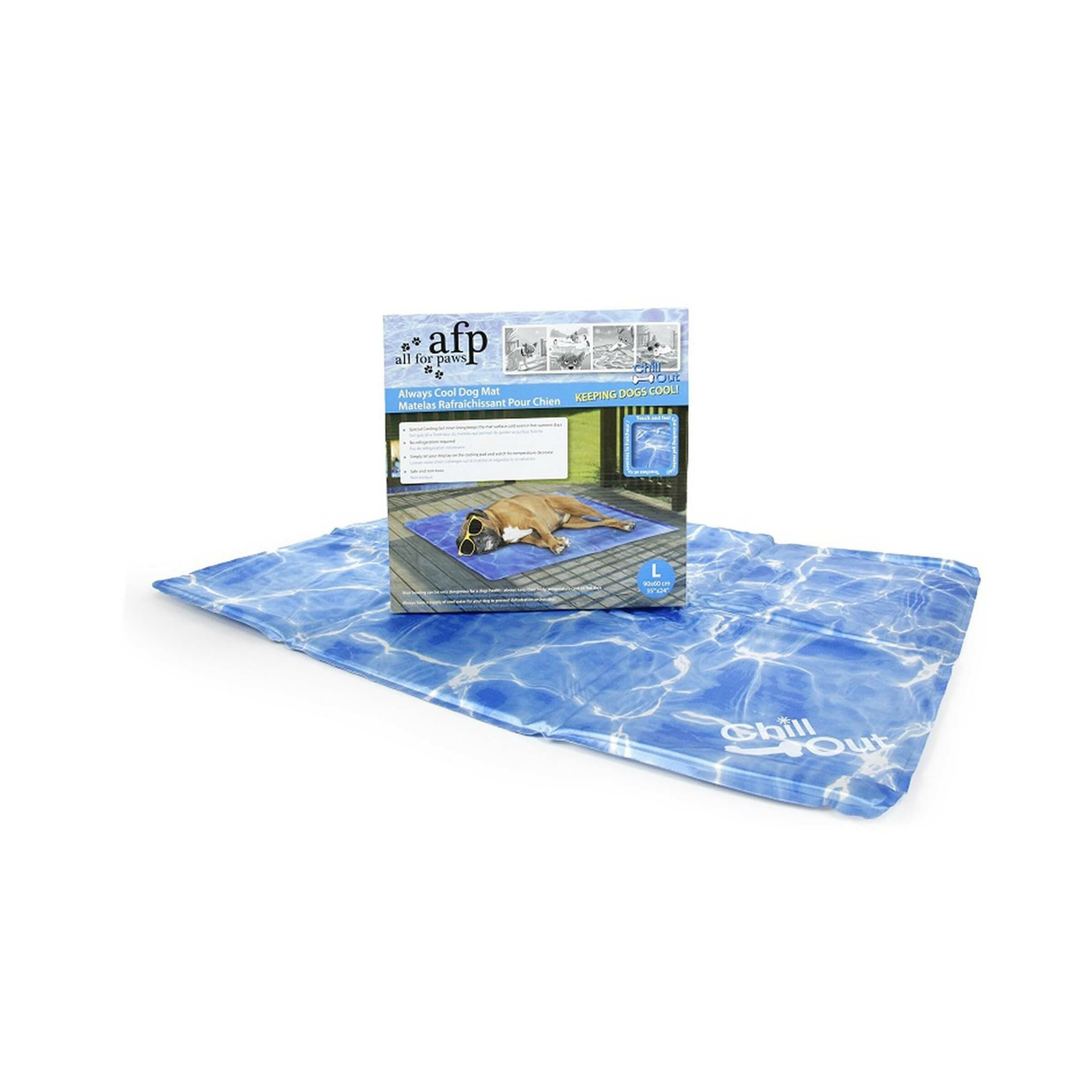 Image of All for Paws Chill Out Always Cool Dog Mat Grösse L