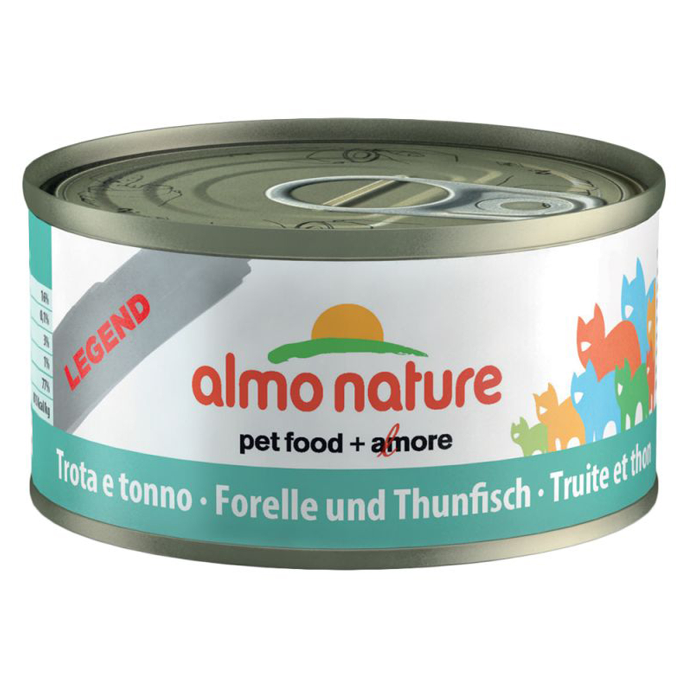 Image of Almo Nature HFC Jelly Forelle & Thunfisch Dose 70g