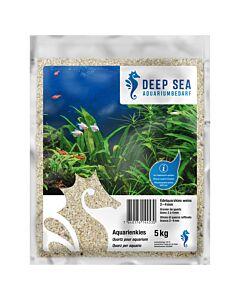 Deep Sea Aquarium Edelquarzkies weiss, 2-4mm, 5kg