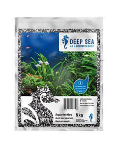 Deep Sea Quartz pour aquarium noir-blanc, 5kg