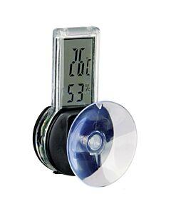 Digital Thermo-Hygrometer silber