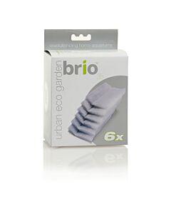 Brio35 Ersatzfilterschwamm 6 Stück