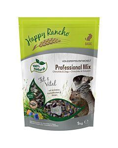 Happy Rancho Professional Mix chinchilla & degu nourriture 1kg