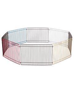 Enclos pour hamsters avec 8 éléments de grille