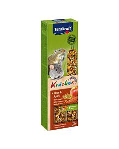 Vitakraft Kräcker & Hirse & Apfel 2er Pack