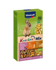 Vitakraft Kräcker Trio-Mix Waldbeeren, Honig & Popcorn