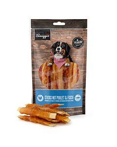 Snuggis Hundesnack Sticks mit Poulet &Fisch 150g