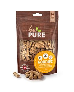 bePure Hundesnack Goodiez Lachs mit Huhn 150g