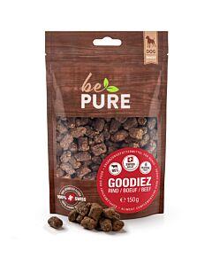 bePure Hundesnack Goodiez Rind 150g