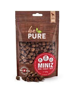 bePure Hundesnack Miniz Rind 120g