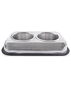 Freezack Hundenapf Twin Feeder Bowl 2x850ml
