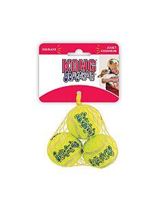 KONG Hundespielzeug Squeak Air Tennisbälle M 3Stk. 6.5cm