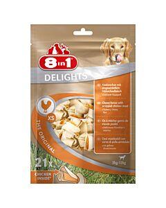 8in1 Delights paquet XS à 21 pcs.