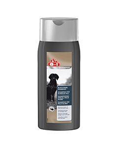 8in1 Shampooing spécial poils noirs 250 ml