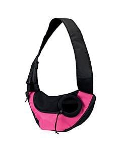 Trixie Fronttasche Safer Lifeing pink/schwarz