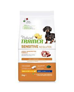Trainer Hundefutter Sensitive No Gluten Small & Toy Adult Ente 2kg
