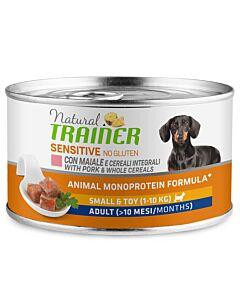 Trainer Hundefutter Sensitive No Gluten Small & Toy Adult Schwein 150g