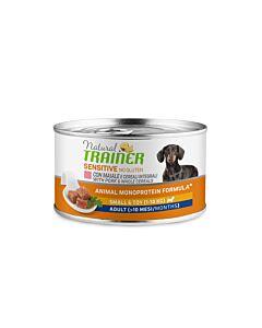 Trainer Hundefutter Sensitive No Gluten Small & Toy Adult Schwein 24x150g