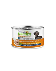 Trainer Hundefutter Sensitive No Gluten Small & Toy Adult Forelle 24x150g