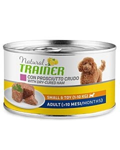 Trainer Hundefutter Natural Small & Toy Adult Prosciutto 150g
