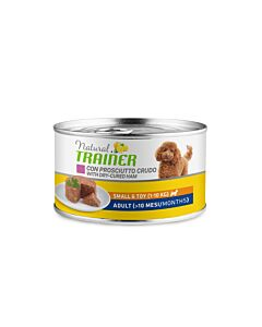 Trainer Hundefutter Natural Small & Toy Adult Prosciutto 24x150g