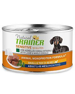 Trainer Hundefutter Sensitive No Gluten Small&Toy Adult Lamm 150g