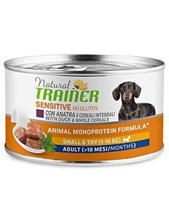 Trainer Hundefutter Sensitive No Gluten Small & Toy Adult Ente 150g
