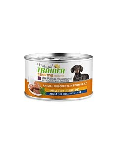 Trainer Hundefutter Sensitive No Gluten Small & Toy Adult Ente 24x150g
