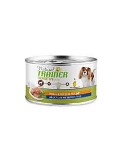 Trainer Hundefutter Sensitive Plus Small & Toy Adult Pferd 24x150g