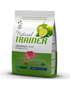 Trainer Hundefutter Natural Maxi Adult Beef & Rice 3kg