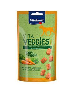 Vitakraft Friandise pour chiens Veggie Bits carotte 40g