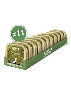 Lily's Kitchen Nassfutter für Hunder Organic Supper Lamm 11x150g