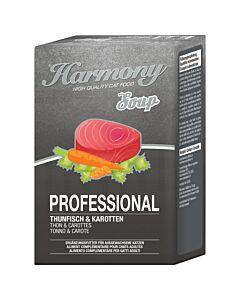 Harmony Cat Professional Katzensuppe Thunfisch & Karotten 4x40g