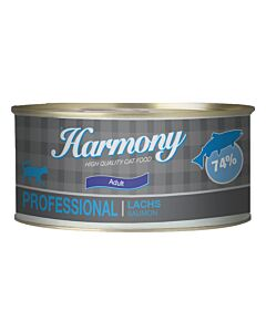 Harmony Cat Professional Nassfutter Lachs 24x75g
