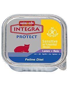 animonda Integra Protect Sensitive mit Lamm & Reis 16x100g
