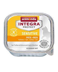 animonda Integra Protect Sensitive mit Pute & Reis 16x100g