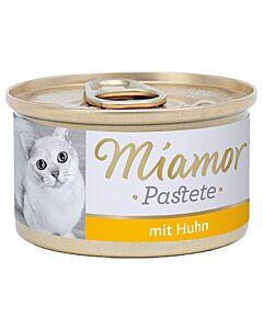 Miamor Fleischpastete mit Huhn 12x85g