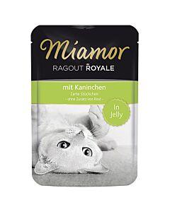 Miamor Ragout Royale mit Kaninchen 22x100g