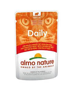 Almo Nature Daily Menu mit Huhn und Rind 30x70g