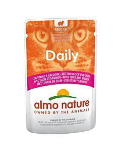 Almo Nature Daily Menu mit Thun & Lachs 30x70g