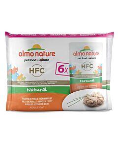 Almo Nature Classic Chat Filet de Poulet 8x6x55g