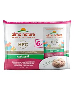 Almo Nature Classic Chat Thon & Poulet 8x6x55g