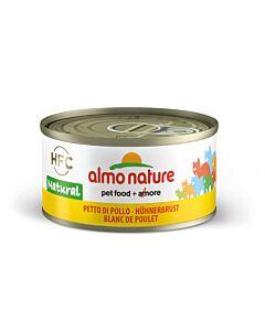 Almo Nature Chat Blanc de Poulet 24x70g