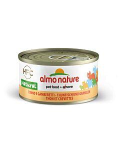 Almo Nature Chat Thon & Crevettes 24x70g