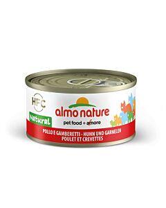 Almo Nature Chat Poulet & Crevettes 24x70g